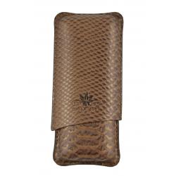 Cigar Must Accessories Cigar Case Bronze 2 cigars
