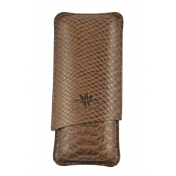 Cigar Must Accessories Cigar Case Bronze 2 cigars