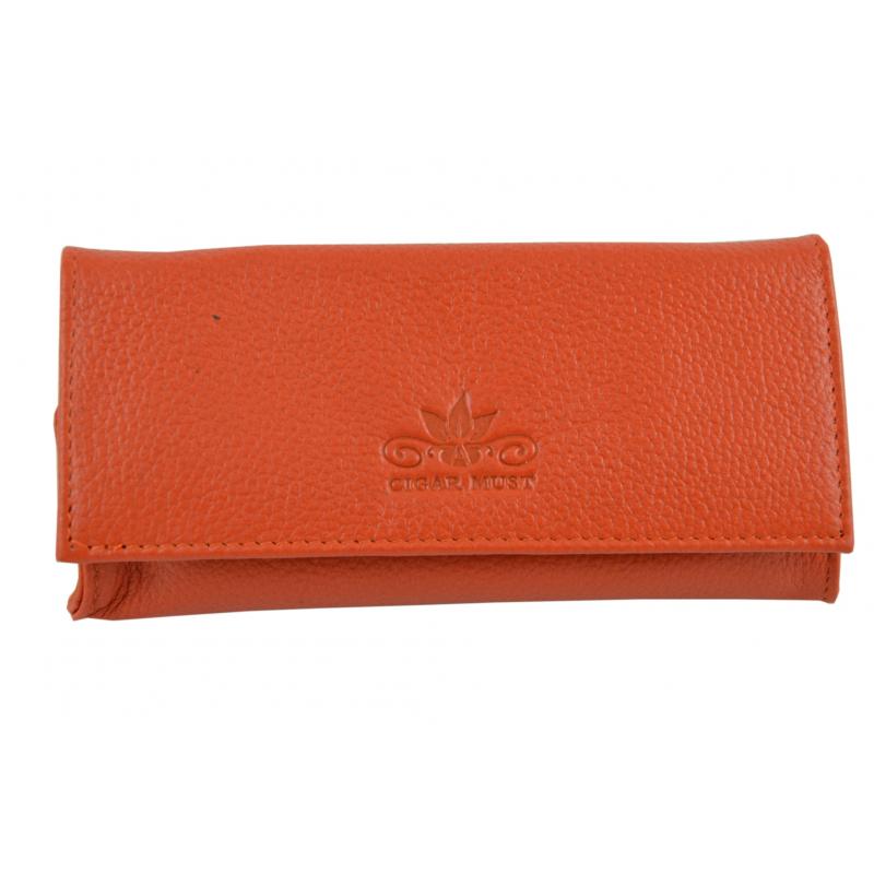 Cigar Must Accessories Tobacco Pouch Orange